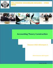 accounting heory construction