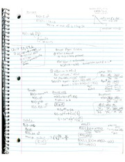 Ch 17 Principal Agent Notes and Problems