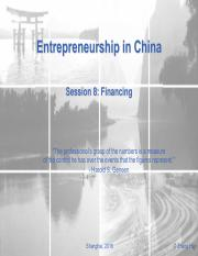 ES in China_Session9-Financing