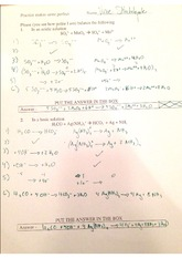 acidic v basic solution problems