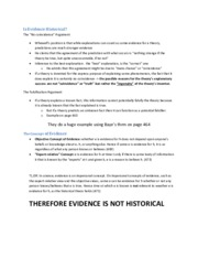 Is Evidence Historical