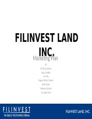 FILINVEST-LAND-INC ppt FINAL!