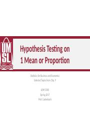 3-Hypothesis Tests-Chp9