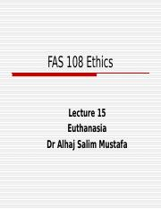 Lecture 15 Ethunasia.ppt