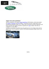 Jaguar Cars and Land Rover123 (Autosaved)