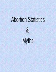 Abortion Stats and Myths Fall 2015(1)