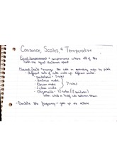 Consonce Scales and Temperative