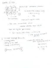 Art and Practice of Math Notes 9