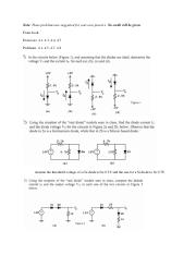Problems - Nonlinear analysis and diodes.pdf