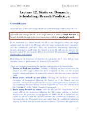 12_Branch Prediction