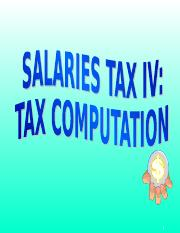 Salaries_Tax_IV.ppt