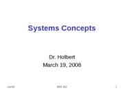 EEE202_Lect15_SystemsConcepts