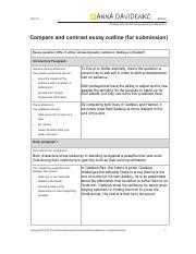 Discrimination essay outline