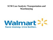 BUS 3022- F of Supply Chain Management unit4walmart