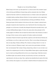 Law, God and Human Dignity Essay