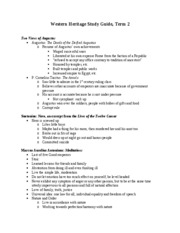 Western Heritage Study Guide2