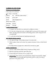 shadrack's document cv