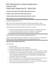 2013SU L03p Project Assignment 02 - Word 2013 (1).pdf