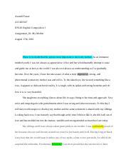 Smart goals essay - Running head SMART GOALS Avanell Fraser ...