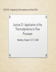 lecture 21-Applications of Thermodynamics to flow processes_2
