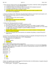 Mastering biology homework answers