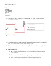 """ect122 w1 ilab 3 Ecet 220 devry week 1 ilab 1 ecet220 ecet 220 devry week 1 ilab 1 ecet 220 devry week 1 ilab 1 ilab 1 of 7: voltage rectifier and voltage regulation circuits (30 points) note submit your assignment to the dropbox, located at the top of this page (see the syllabus section """"due dates for [."""