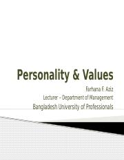 Chapter 5 - Personality & Values.pptx