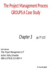 Chapter-3-The Project   Management Process