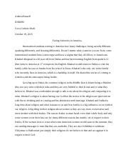 Cross Cultral Interview paper