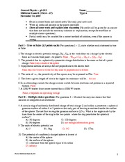 Midterm Exam 2 Solution on General Physics