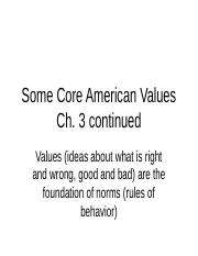 S101Some Core American Values(1) (1).ppt