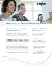 COPC Inc. Brochure_ Benchmark Review for Forecasting_ Staffing and Scheduling