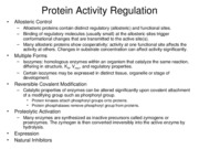 08-Enzyme Regulation