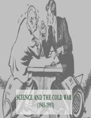 Cold war science