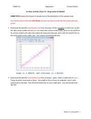 In Class Activity - Linear Regression.docx