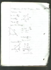 Application of Right Triangles