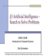 3. Artificial Intelligence