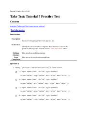 Tutorial 7 Practice Test CIT 170.docx