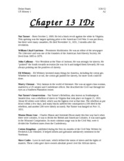 Chapter 13 IDs
