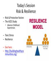 200.5 Risk Resilience