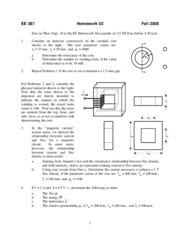 energy conversion homework