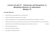 Lecture 26 and 27 exceptions wo