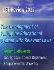 LET-Development of Philippine Education7.ppt