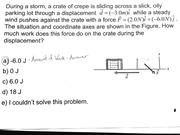 Force on Displacement Practice Problem