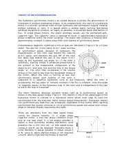10_THEORY OF THE HYSTERESIS MOTOR