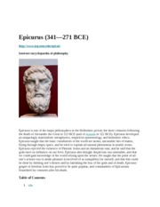 Epicurus Reading 27