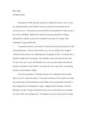 ted bundy erin tylski ted bundy essay on a prisoner sentenced to 2 pages ted bundy