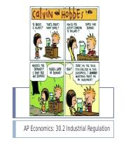 30.2 Industrial Regulation.ppt