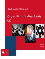 6_History of Aust Schooling 2