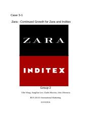 briefly describe five opportunities for continued growth during the next five years for zara s paren